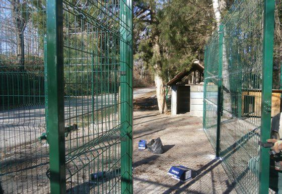 Заграждение за куче от оградни пана Габрово – Галерия