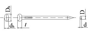 Овални гвоздеи 1