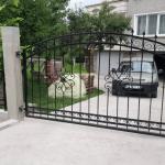 врата от ковано желязо за кола