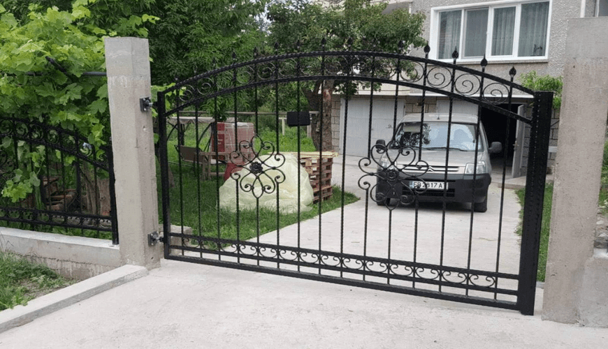 Ограда и Врати от Ковано Желязо – Галерия